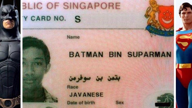 Zlo se zmocnilo i muže s hrdinským jménem! Policie zatkla Singapurce Batmana bin Suparmana