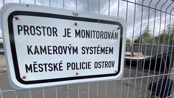 Skatepark v Ostrově byl dlouho problémovým místem: Policie ho střeží kamerami