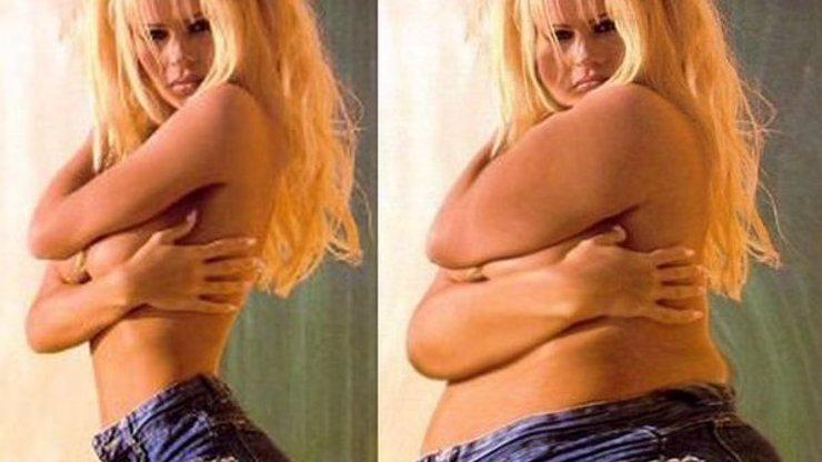 Strašák Photoshop: Sledujte 10 celebrit, které se promění v obézní monstra