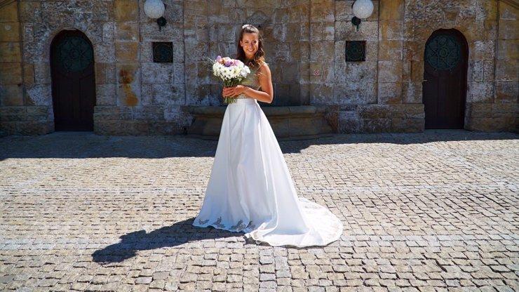 Úchvatná nevěsta! Tanečnice ze StarDance, kterou proháněl Vágner, překvapila ve svatebním