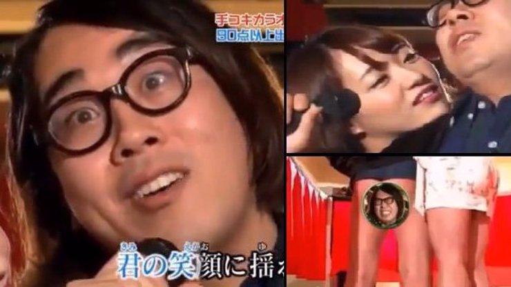Zpívejte sladce, když vám honí vrabce aneb Japonská masturbační karaoke show vás pošle do kolen!