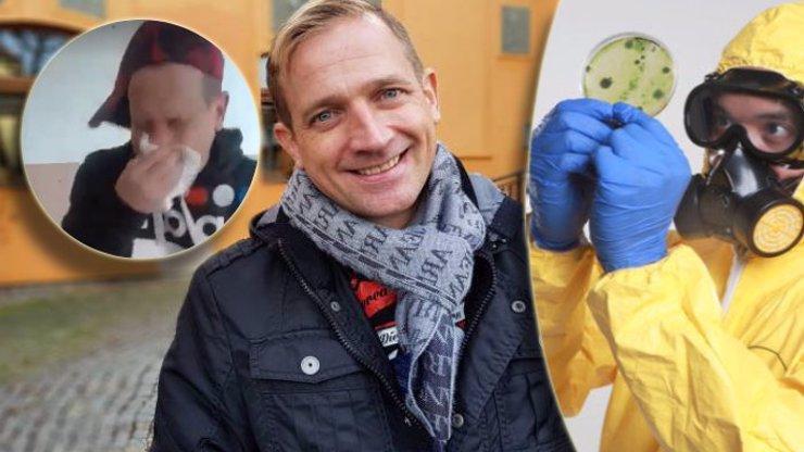 Martin Kocián bojuje s koronavirem: Natočil video a radí, jak se nemocí nenakazit