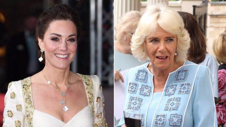 Vévodkyně Kate a Camilla ve při? Jdou si údajně po krku kvůli titulu královny manželky