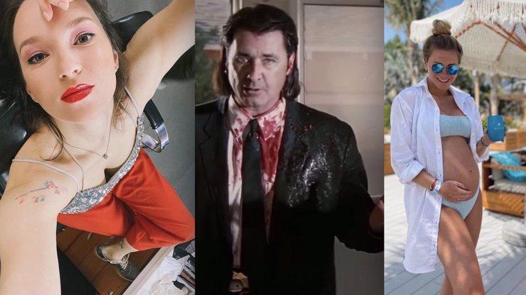 Instanews: Kohoutová mění image, Kopřivová v Dubaji a Dejdar v Tarantinově filmu