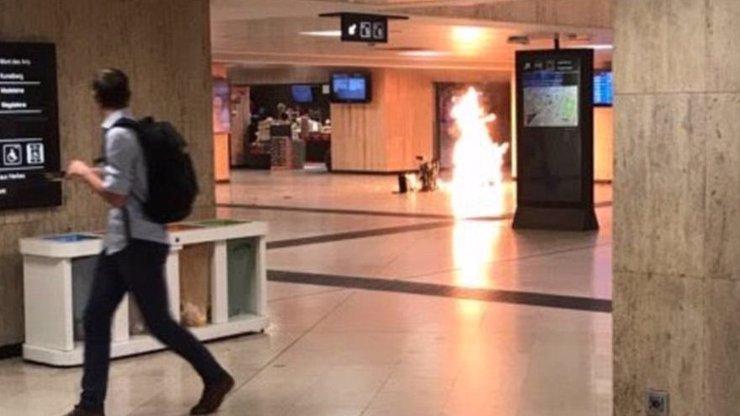 V Bruselu byl zneškodněn atentátník s trhavinou! Výbušný pás mu pravděpodobně selhal