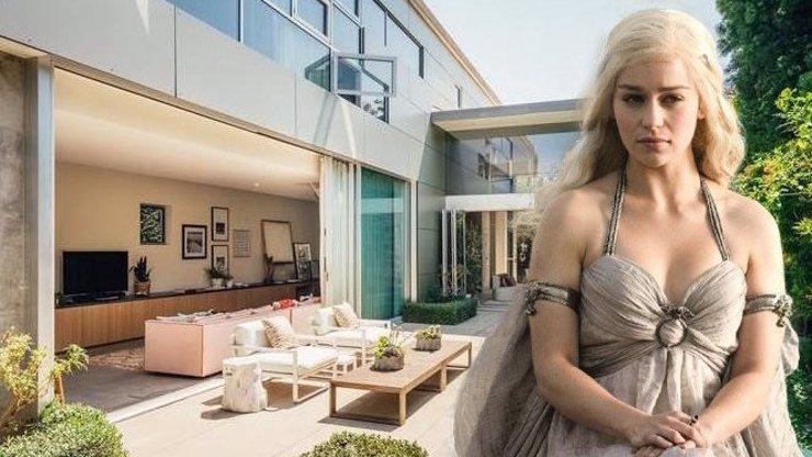 Emilia Clarke prodává svou luxusní vilu: V tomto přepychu žila Daenerys ze Hry o trůny