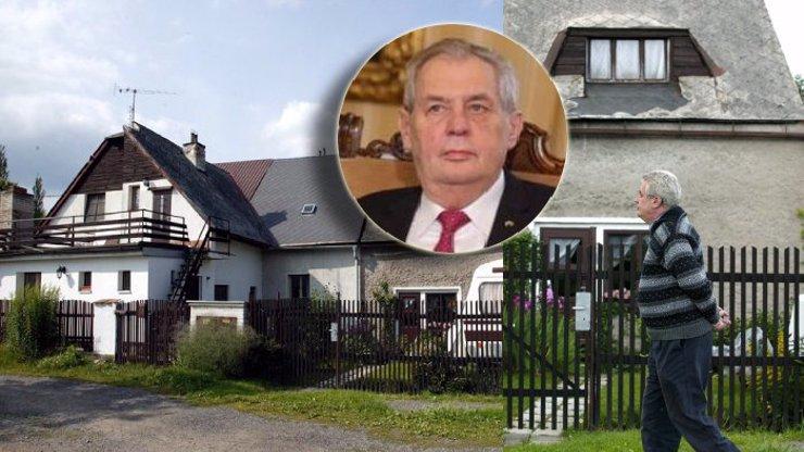 Miloš Zeman plánuje život bez Hradu: Bude stavět dům