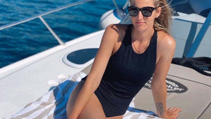 Kristýna Plíšková v Chorvatsku předvedla dokonalé tělo a zamilovaného přítele