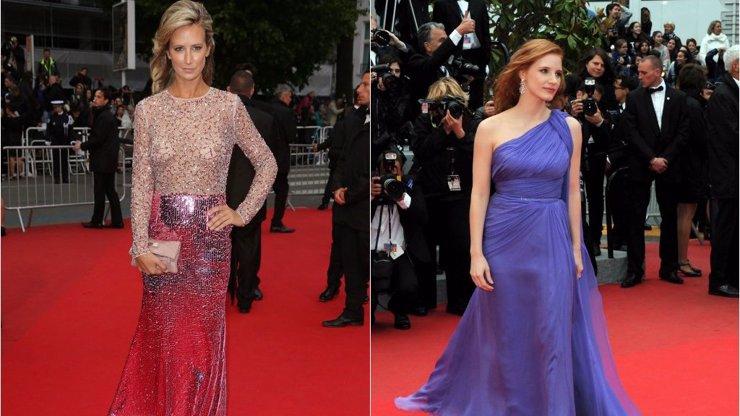3. díl módního speciálu z Cannes: 8 šatů, které vám rozhodně nesmí ujít! Vedla antická bohyně v modrém!