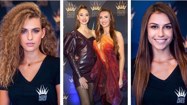 Představení finalistek Miss Czech Republic: Svoji favoritku mají fanoušci i česká Barbie