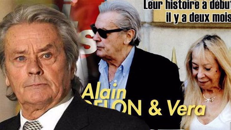 Alain Delon truchlí: Přišel o Veru, jednu ze svých posledních lásek