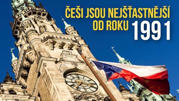 Čechům se daří od sametové revoluce nejlépe.