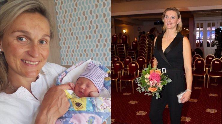 Barbora Špotáková má druhého syna.