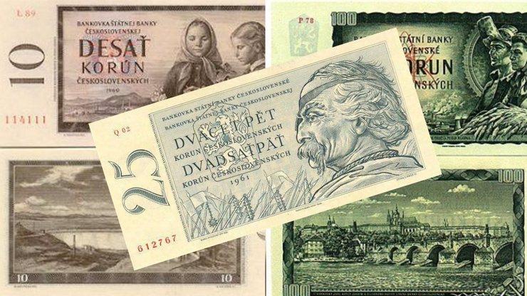 Předlistopadová měna aneb Čím jsme platili za socialismu