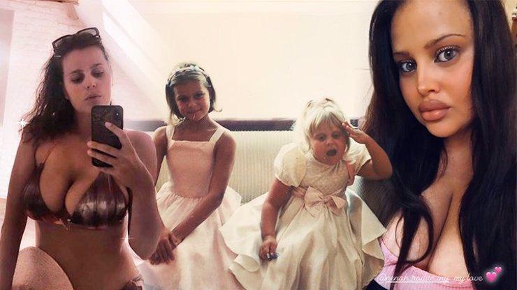 Charlotte a Ornella ukázaly snímky z dětství: Rozkošné malé Štiky už tehdy vystrkovaly růžky