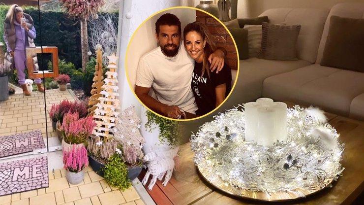 Milionové bydlení Milana Baroše: Manželka Tereza rozzářila vánoční výzdobou celý dům