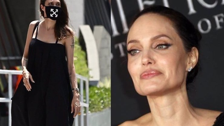Angelina Jolie děsí fanoušky: Herečka je kost a kůže, ruce má jak slepičí pařátky