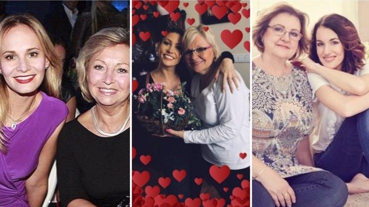 Ani hvězdy nezapomněly na Den matek: Kerndlová nešetří srdíčky, Bočanové se po mamince stýská