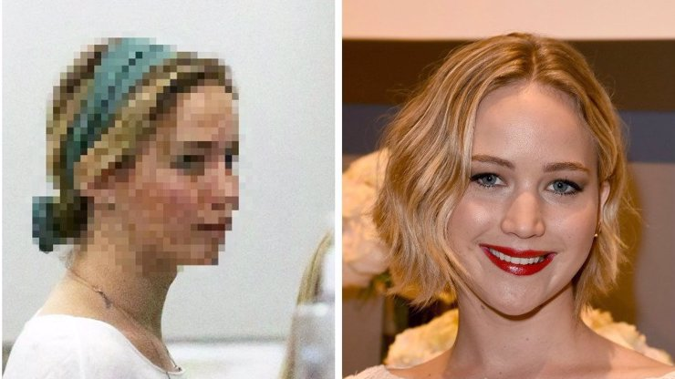 Díky hackerům jsme z Jennifer Lawrence viděli vše. Teď se ukázala bez make-upu. Sbírka je kompletní!