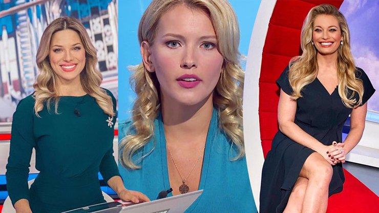 Souboj krásných moderátorek: Žhavá Perkausová versus éterická Bartošová a smyslná Borhyová