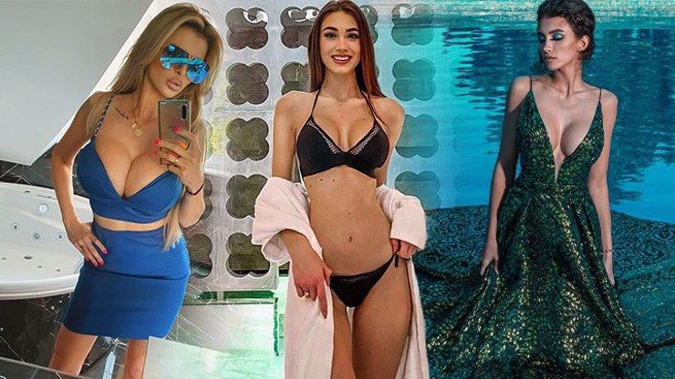 Silikonové krásky tasily zbraně: Miss Denisa Spergerová, smyslná Daniela a obří Lela