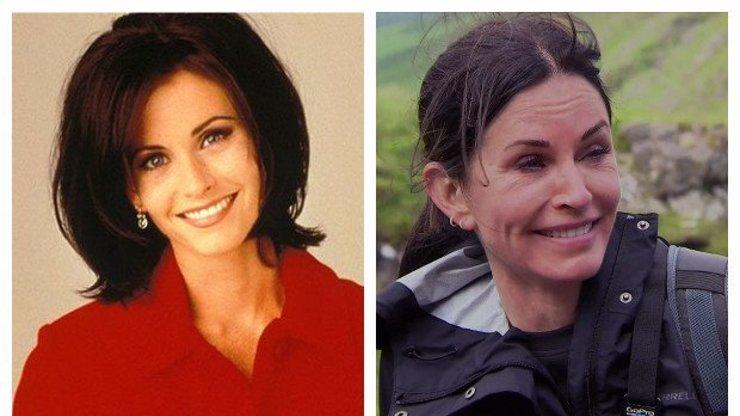 Courteney Cox plastiky zničily obličej! Teď má zpátky přirozený vzhled, své výplně si nechala odstranit