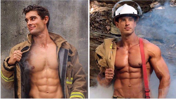 Hodně žhavé fotky: Australští hasiči se ukázali v novém charitativním kalendáři