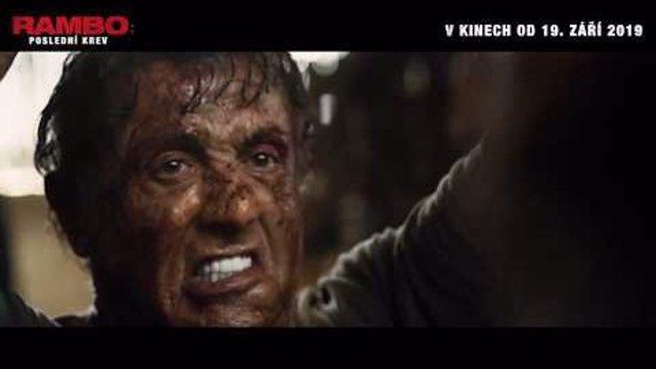 Nový film Rambo: Poslední krev: Zbývá ještě jedna bitva