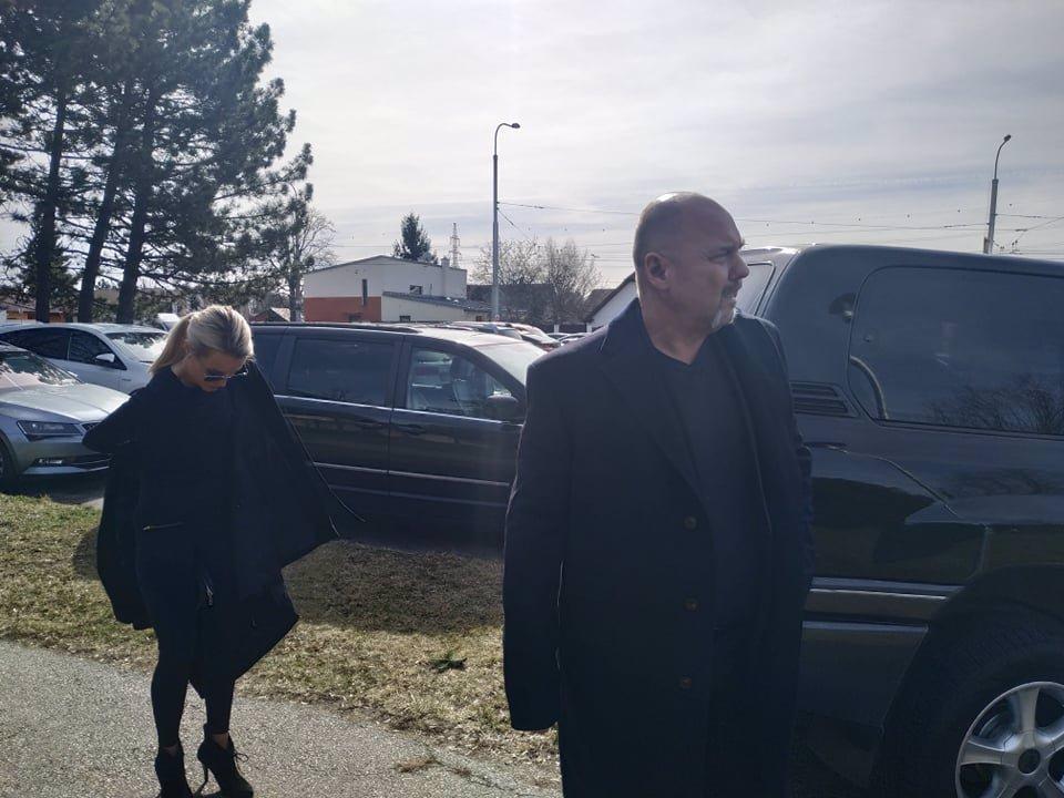 Pohřeb Jiřího Pomeje (†54): Poslední sbohem mu dali Andrea, kamarádi i kolegové