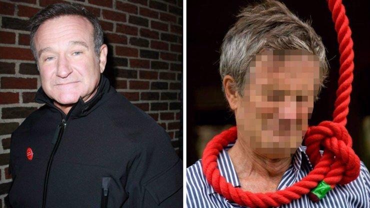 Úřady prozradily děsivé detaily sebevraždy Robina Williamse. Před oběšením si ještě podřezal žíly!