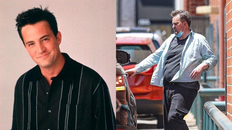 Sešlý a otylý Matthew Perry slaví 51: Chandler z Přátel se bál nadváhy, herec jí trpí