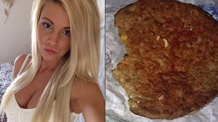 Vypadá to jako klasický hamburger. Nepochopíte, co měla tato kráska mezi zuby, když si poprvé kousla!