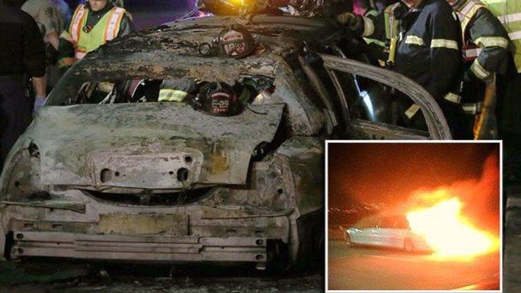 Tragédie na sanfranciském mostě: V luxusní limuzíně uhořelo pět mladých žen