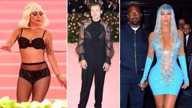Největší tragédi na Met Gala: Lady Gaga vystrčila zadnici, Harry Styles šel za ženskou