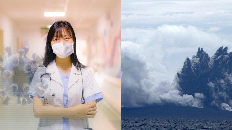 Svět řeší koronavirus a příroda začíná řádit: K životu se probudily sopky na Islandu a v Indonésii