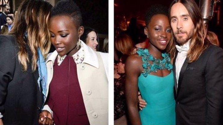 6 důkazů, že držitelé Oscara Jared Leto a Lupita Nyong'o spolu určitě něco mají