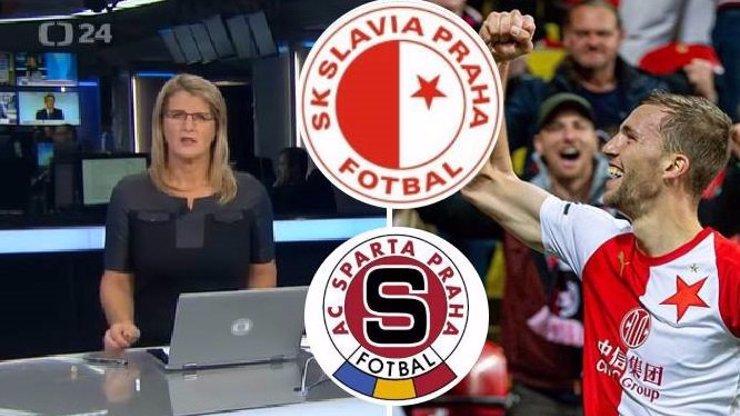 Stačil jeden fotbalový přeřek a ihned se stala hvězdou internetu: Moderátorce ČT všichni tleskají