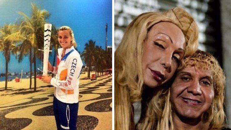 ŽIVOT ZA PLOTEM: Petra Kvitová ukázala fotky z olympijské vesnice. Tam venku ale číhají gangy, tam venku šlapou zdrogovaný holky, tam venku je skutečné Rio