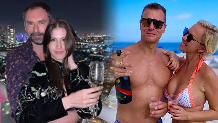 Belohorcová přivítala nový rok v plavkách: Přijel za ní i kuchař Ridi se svou kráskou