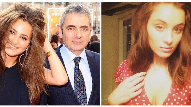 Mr. Bean má rozkošnou dceru: Lily krásu po tátovi naštěstí nezdědila