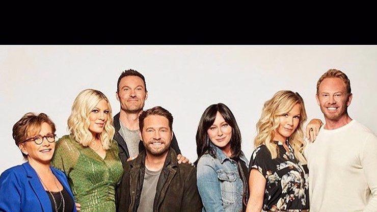 FOTO UVNITŘ: Beverly Hills 90210 se svléklo, Kelly, Donna a Andrea předvedly svá těla