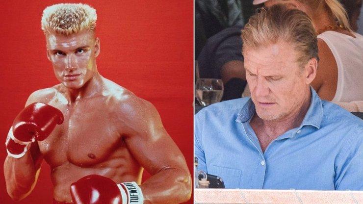 Natřel by to Ivan Drago ještě někomu? Z hvězdy Rockyho je spíš kaváranský povaleč