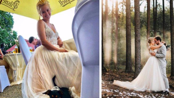 První fotografie ze svatby Patricie Solaříkové: Dojemné snímky, které jste ještě neviděli