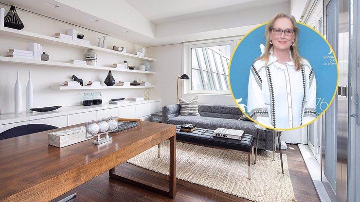 Meryl Streep žila v luxusním bytu na Manhattanu: Výhled měla na všechny krásy New Yorku