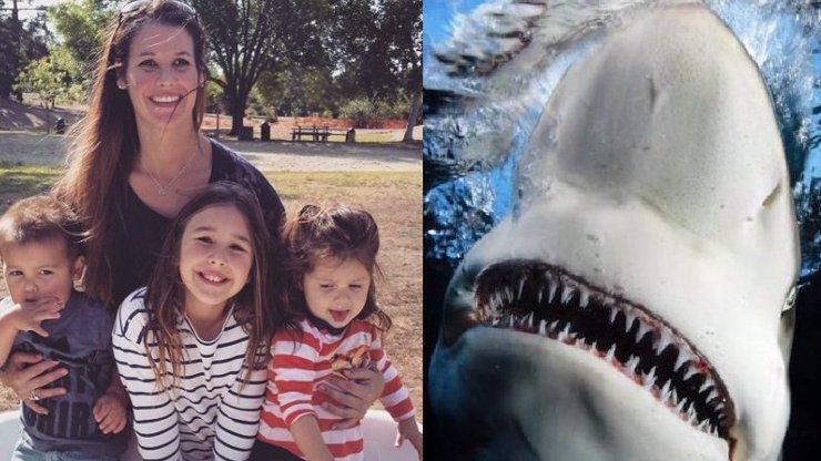 Hororový boj o život: Do matky se zakousl žralok, ta mu vrazila pěst do oka
