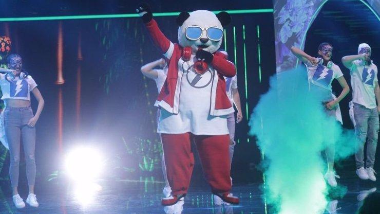 Show Zlatá Maska: Pod maskou rozkošné Pandy se ukrýval slavný Terminátor