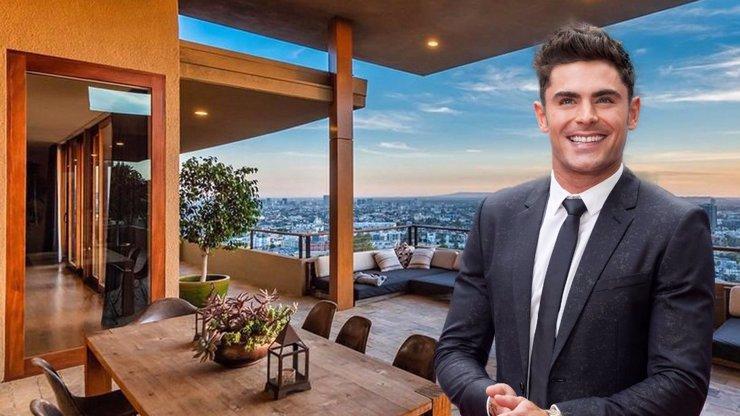Zac Efron prodává luxusní sídlo v Los Angeles: Za své království chce pořádný balík
