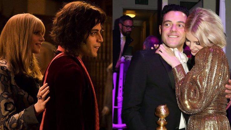 Jako Freddie a Mary: Hlavní hvězdy Bohemian Rhapsody jsou zamilované až po uši!