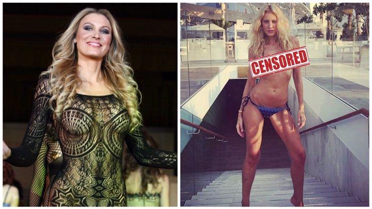 Modelka Kateřina Průšová opět provětrala své SILIKONY! Tohle tělíčko chcete vidět!