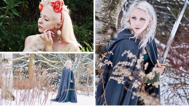 Skutečná Galadriel: Tahle dívka věří, že byla v minulém životě víla, nechala si proto přioperovat elfí uši a žije jako z Pána prstenů